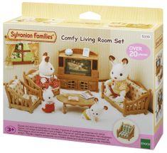 Sylvanian Families zestaw salon z telewizorem