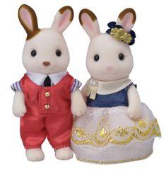 Sylvanian Families zakochane króliczki