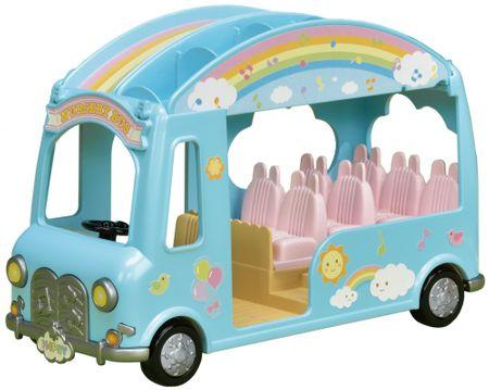 Sylvanian Families Duhový školkový autobus