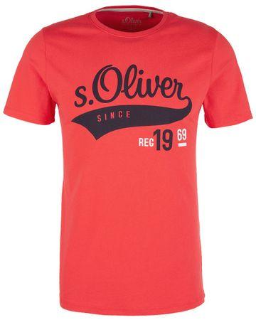 s.Oliver koszulka męska XXL czerwona