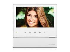 COMMAX CDV-70H2 bílý, barevný handsfree videotelefon, 7'' LCD, 2 video vstupy, dotyková tlačítka,