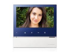 COMMAX CDV-70H2, barevný handsfree videotelefon, 7'' LCD, 2 video vstupy, dotyková tlačítka,
