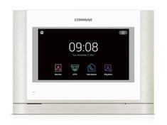COMMAX CDV-704MA bílý, handsfree AHD videotelefon s 7'' HD IPS displejem a dotykovými tlačítky,