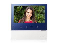 COMMAX CDV-70H, barevný handsfree videotelefon, 7'' LCD, 1 video vstup, dotyková tlačítka,