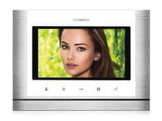 COMMAX CDV-70M bílý, barevný handsfree videotelefon s 7'' displejem a dotykovými tlačítky,