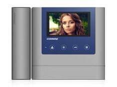 COMMAX CDV-43MH, barevný sluchátkový videotelefon, 4.3'' LCD, 2 video vstupy, dotyková tlačítka,
