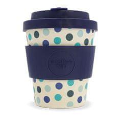 Ecoffee cup kubek bambusowy Blue Polka, 240 ml