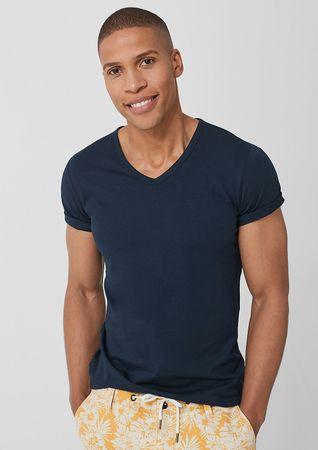s.Oliver pánské tričko 13.907.32.5226 XXL tmavě modrá