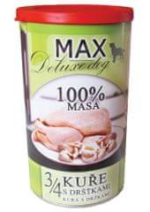 FALCO karma dla psów MAX deluxe 3/4 kurczaka z flaczkami, 1200 g