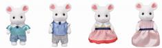 Sylvanian Families rodzina myszy Marshmallow