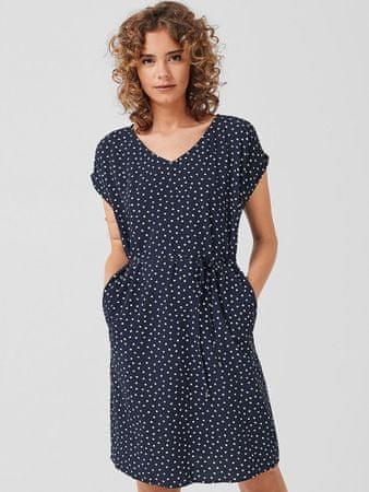 s.Oliver dámské šaty 05.906.82.3241 34 tmavě modrá