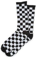 Vans Mn Checkerboard Crew Black/White Che moške nogavice, 42,5-47
