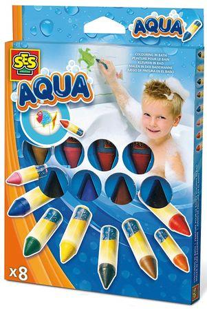 SES Malowanie w wodzie - pachnące kredki woskowe