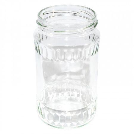 Marex Trade Zavařovací sklenice TWIST, 12 x 370 ml