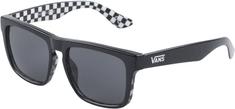 Vans przeciwsłoneczne okulary męskie Mn Squared Off Black/Checkerbo