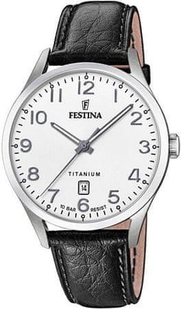 Festina Classic Strap Titanium 20467/1