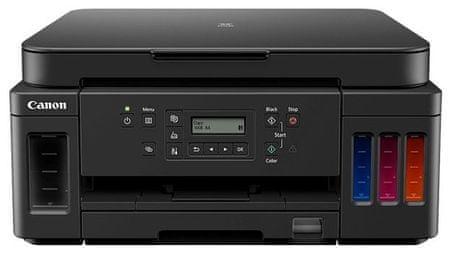 Canon Pixma G6040 večfunkcijska brizgalna naprava + GRATIS 2x črno črnilo