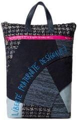 Desigual dámský tmavě modrý batoh Back Liberté Patch Baza