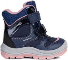 Geox dievčenské zimné topánky Trivor