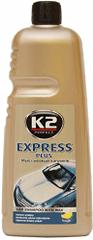 K2 avto šampon z voskom Express, 1 liter