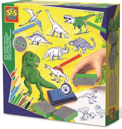 SES Dinoszaurusz bélyeg
