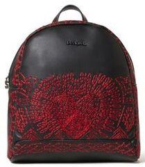 Desigual dámský černý batoh Back Breating Heart Venice Mini