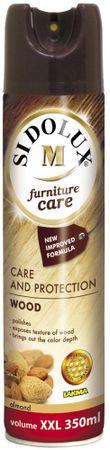 Sidolux M spray péče o nábytek s vůní Mandle 350 ml