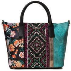 Desigual viacfarebná kabelka Bols Between Holbox Mini