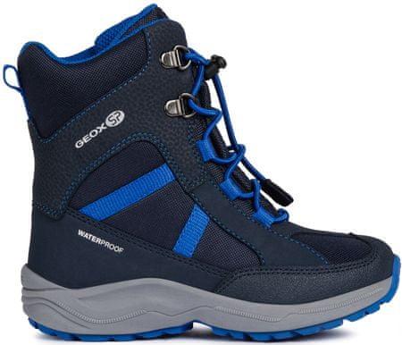 Geox chlapecké zimní boty New Alaska 37 modrá