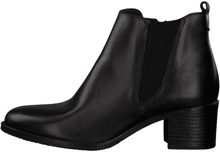 Tamaris dámska členková obuv 25043 36 čierna