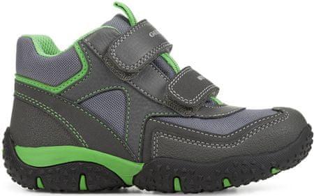 Geox chlapčenské tenisky Baltic 24 sivá / zelená