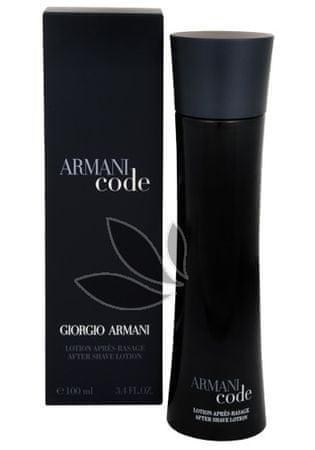 Giorgio Armani Code For Men - after shave 100 ml
