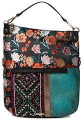 Desigual ženska torbica Bols Between Folded, večbarvna