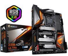 Gigabyte Z390 AORUS ULTRA, DDR4, USB 3.1 Gen2, WIFI, LGA1151, ATX