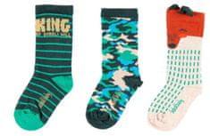 Boboli chlapčenský set 3 párov ponožiek