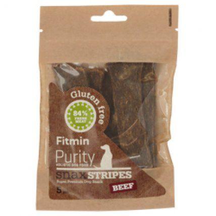 Fitmin Dog Purity Snax STRIPES beef, poslastica za pse od teletine i goveđeg mesa, 5 komada