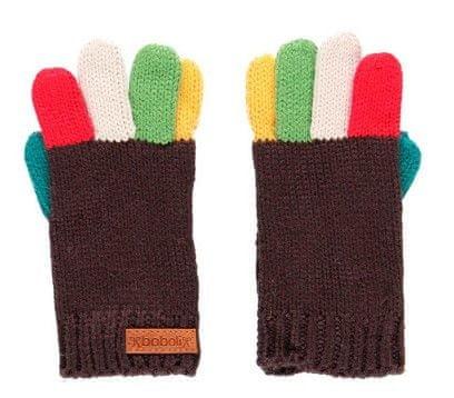Boboli dětské rukavice M černá