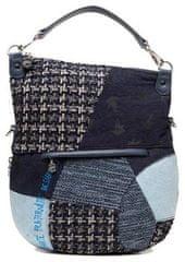 Desigual tmavě modrá crossbody kabelka Bols Liberté Patch Folded