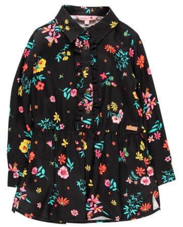 Boboli dievčenské šaty 104 čierna