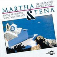 Elefteriadu Martha, Elefteriadu Tena: Nejkrásnější řecké písně - CD