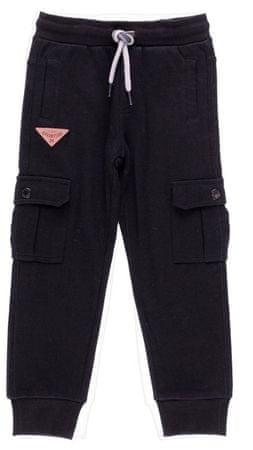 Boboli chlapčenské nohavice s fleecom 104 čierna