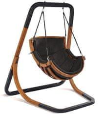 Igotherm krzesło wiszące Trapezoid, czarny