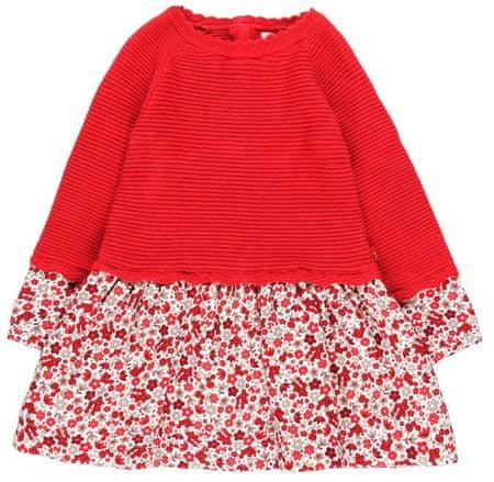 Boboli dievčenské šaty 104 červená