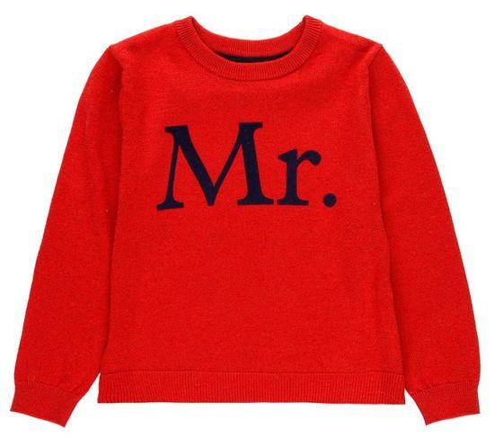 Boboli chlapecký svetr 172 červená