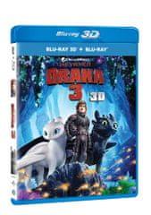 Jak vycvičit draka 3 3D+2D (2 disky) - Blu-ray