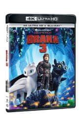 Jak vycvičit draka 3 (2 disky) - Blu-ray + 4K Ultra HD