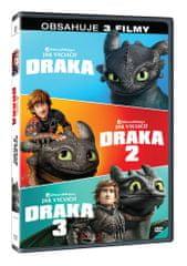 Jak vycvičit draka kolekce 1.-3. (3DVD) - DVD