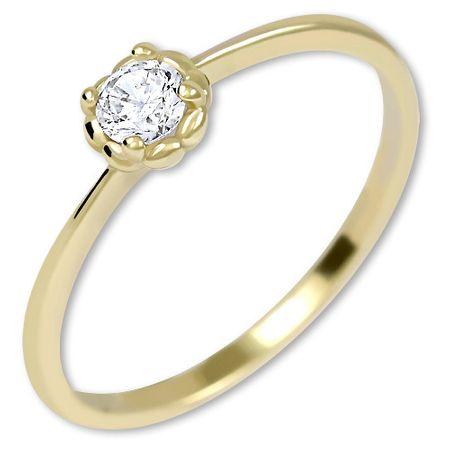 Brilio Zlaten pritezni prstan iz zlata 226 001 01034 (Obseg 50 mm) rumeno zlato 585/1000