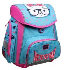 Akta S Cool šolski ergonomski trdi nahrbtnik Meow