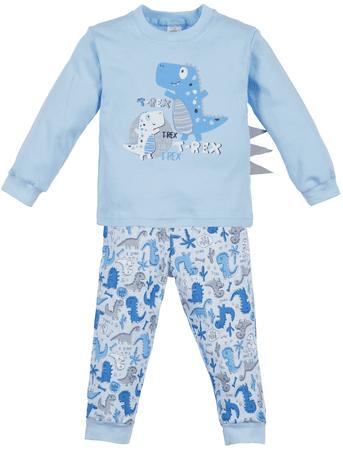 Makoma chlapčenské pyžamo T-Rex 86 modrá